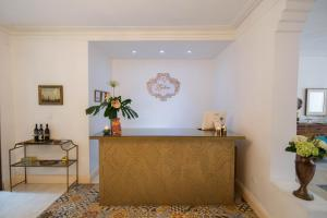 The lobby or reception area at Leclerc Hotel Boutique