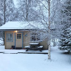 Yttermalungs Camping under vintern