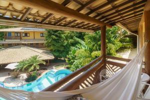Uma vista da piscina em Hotel Via dos Corais ou nos arredores