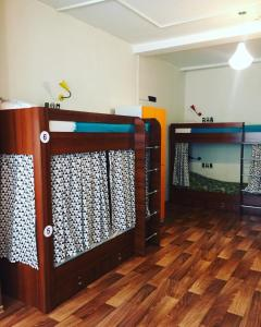A bunk bed or bunk beds in a room at FunKey Hostel