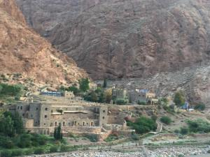 A bird's-eye view of Auberge Le Festival Todra Gorge