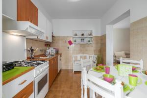 A kitchen or kitchenette at Apartments Nono