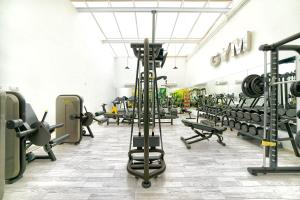 The fitness center and/or fitness facilities at BULL Eugenia Victoria & SPA