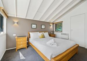 A bed or beds in a room at Diamantina
