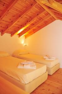 Letto o letti in una camera di Kleopatra Villas - Seaside Suites