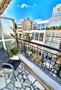 A balcony or terrace at Noufara