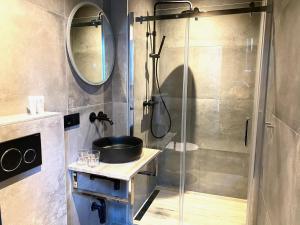 A bathroom at Hotel de Prince