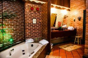 A bathroom at Urikana Boutique Hotel
