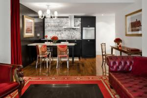 A kitchen or kitchenette at Faena Hotel Buenos Aires