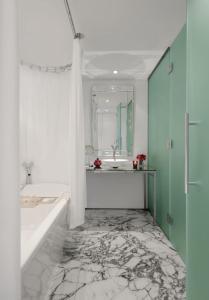A bathroom at Faena Hotel Buenos Aires