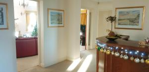 The lobby or reception area at Plumpton House