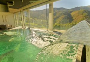 The swimming pool at or near Arantza Hotela- Adults Only