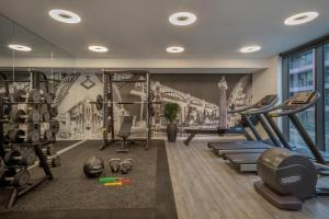 The fitness centre and/or fitness facilities at Innside by Melia Newcastle