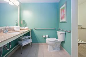 A bathroom at Hotel Indigo - Sarasota, an IHG Hotel
