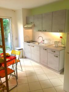 Küche/Küchenzeile in der Unterkunft Villasud