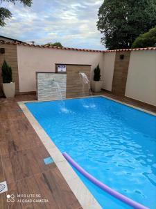 A piscina localizada em Pousada das Letras ou nos arredores
