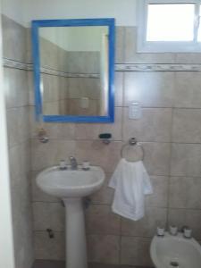 A bathroom at La Solita