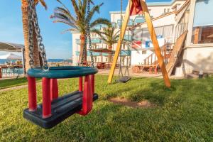 Children's play area at Hotel Christina