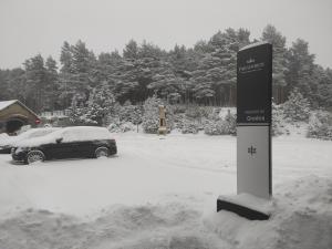 Parador de Gredos en invierno