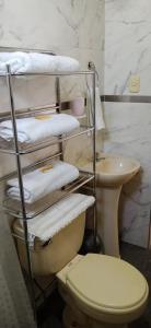 A bathroom at La Viña de OsCar