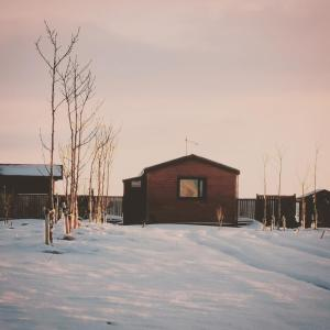 Hekla Nordicabin - Wild Cottage during the winter