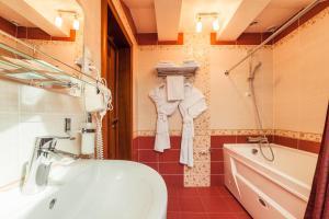 Ванная комната в Гостиничный Комплекс Театральный