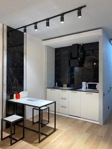 A kitchen or kitchenette at Premium apartment Match Point