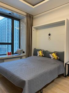 A bed or beds in a room at Premium apartment Match Point