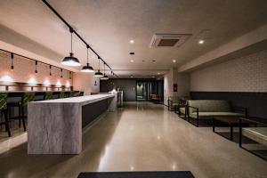 The lobby or reception area at Randor Hotel Namba Osaka Suites