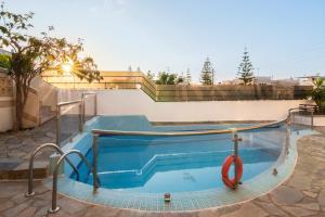 The swimming pool at or near Villa Krini