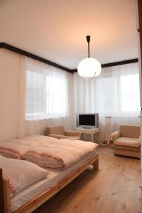 Posteľ alebo postele v izbe v ubytovaní Chalupa GABIKA