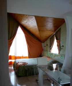Кровать или кровати в номере Racu