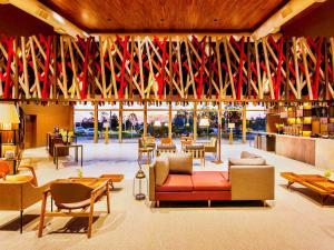 O lounge ou bar de Novotel Itu Terras de Sao Jose Golf & Resorts
