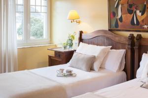 Cama o camas de una habitación en La Galería