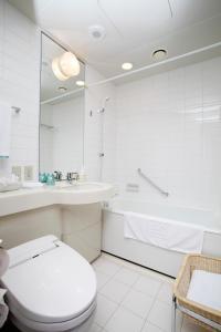 A bathroom at JR Tower Hotel Nikko Sapporo