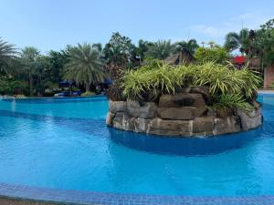 The swimming pool at or near Try Palace Resort