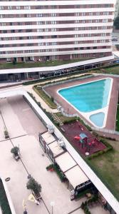 A view of the pool at DİHA RECİDENS or nearby