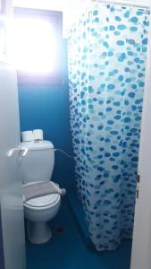 A bathroom at Hotel Mediterraneo