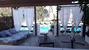 The swimming pool at or close to Hotel Mediterraneo