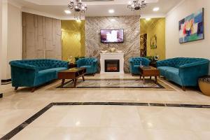 منطقة جلوس في Phoenicia Tower Hotel And Spa