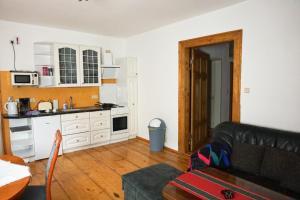 Küche/Küchenzeile in der Unterkunft ALBIG - Alte Mühle