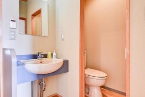 A bathroom at Kanoe