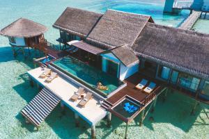 The floor plan of OZEN LIFE MAADHOO - Luxury All Inclusive