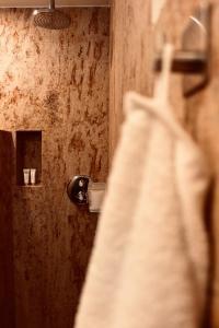 Ein Badezimmer in der Unterkunft Zum Alten Backhaus