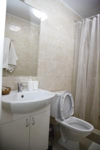 Ванная комната в Гостиница Анжелика