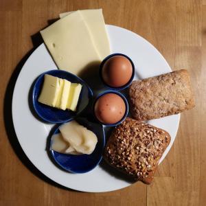 Mad på bed & breakfast-stedet eller i nærheden