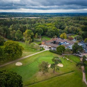 A bird's-eye view of Cottesmore Hotel Golf & Country Club