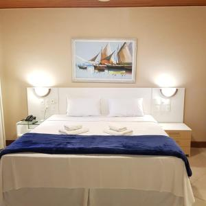 Кровать или кровати в номере Hotel Meaípe