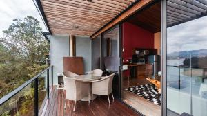 A balcony or terrace at Luxe by The Charlee
