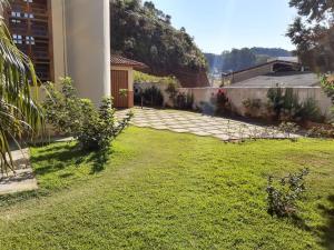 A garden outside Pousada Il Conventino